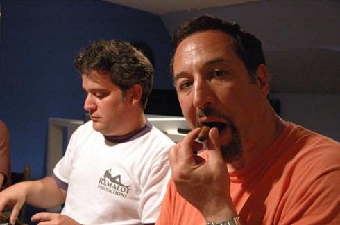Sam and his cigar