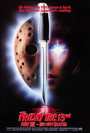 10/13/17 – OCTOBER HORROR MOVIE PICK #13 – Friday the 13th Part VII: The NewBlood.