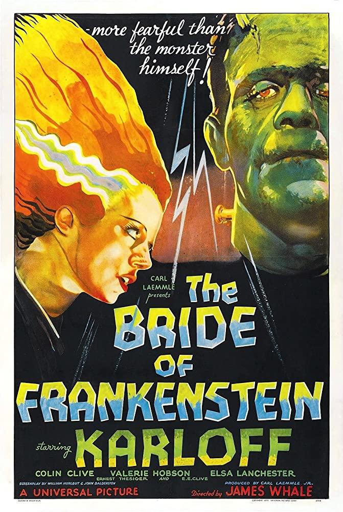 10/20/20 – OCTOBER HORROR MOVIE PICK #20 – The Bride of Frankenstein(1935).