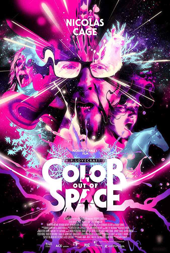 10/18/20 – OCTOBER HORROR MOVIE PICK #18 – Color Out of Space(2019).