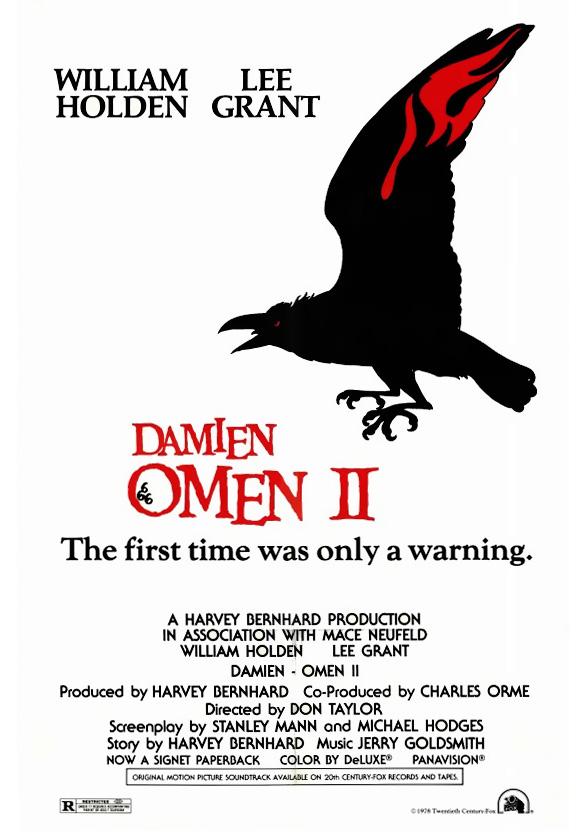 10/24/20 – OCTOBER HORROR MOVIE PICK #24 – Damien: OmenII.