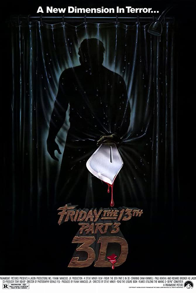 10/14/20 – OCTOBER HORROR MOVIE PICK #14 – Friday the 13th Part III in3D.