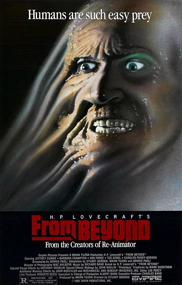 10/16/20 – OCTOBER HORROR MOVIE PICK #16 – From Beyond(1986).