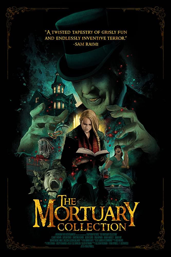 10/17/20 – OCTOBER HORROR MOVIE PICK #17 – The MortuaryCollection.