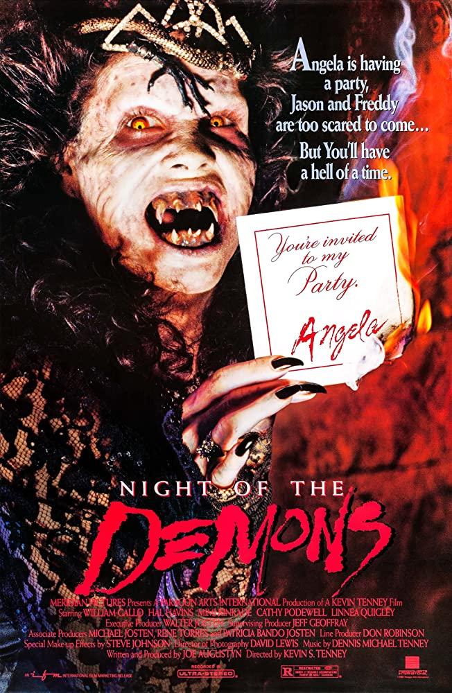 10/6/20 – OCTOBER HORROR MOVIE PICK #6 – Night of the Demons(1988).