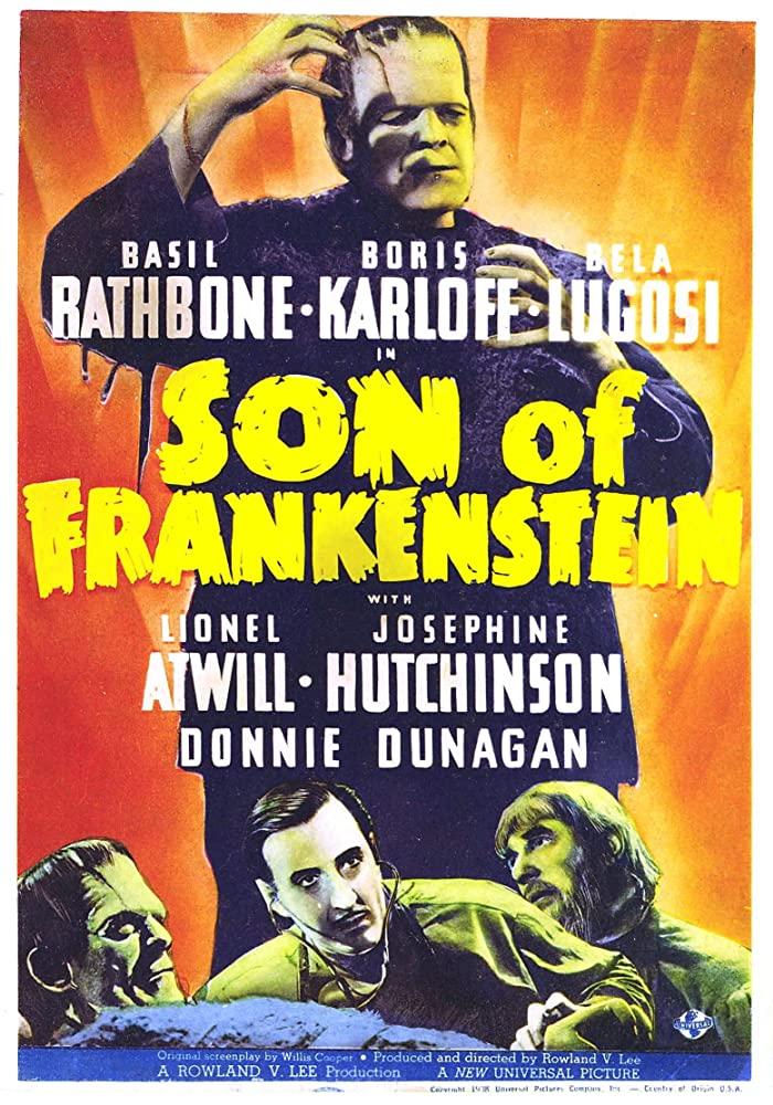 10/21/20 – OCTOBER HORROR MOVIE PICK #21 – The Son of Frankenstein(1939).