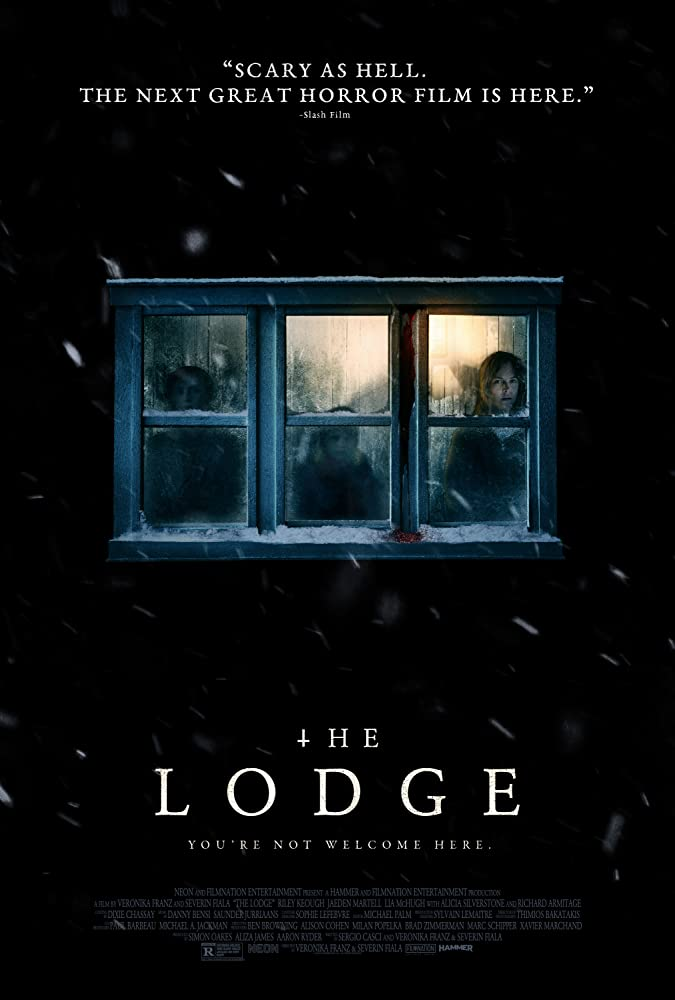 10/5/20 – OCTOBER HORROR MOVIE PICK #5 – The Lodge(2019).
