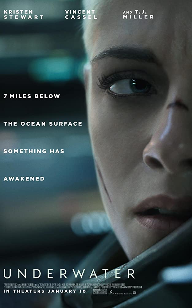 10/19/20 – OCTOBER HORROR MOVIE PICK #19 – Underwater(2020).