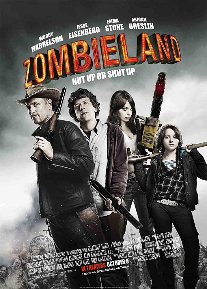 10/25/20 – OCTOBER HORROR MOVIE PICK #25 –Zombieland.